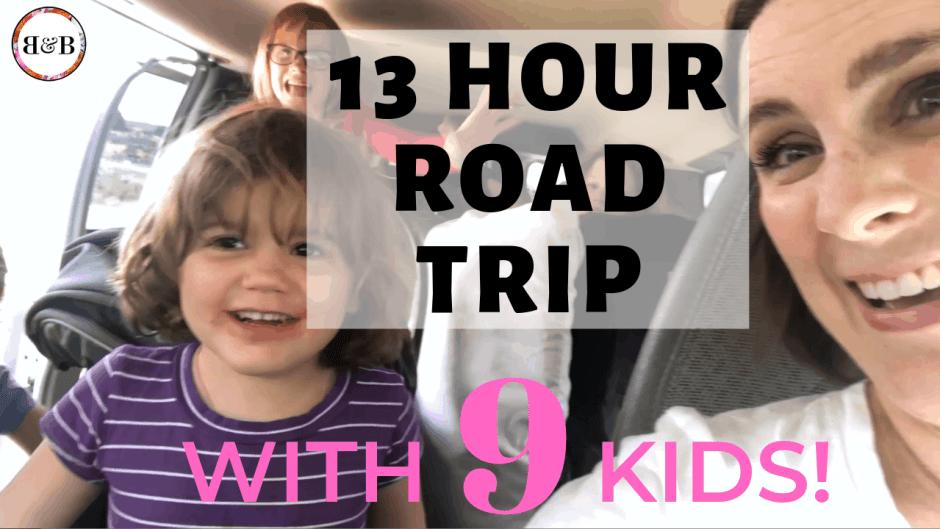 big family road trip