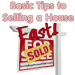 Tips to Selling a House Fast
