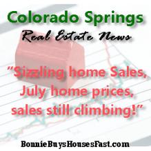 Colorado Springs - Area home sales