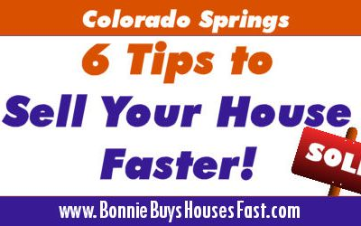 House Selling Tips to Help Sell Your Colorado Springs Home Faster