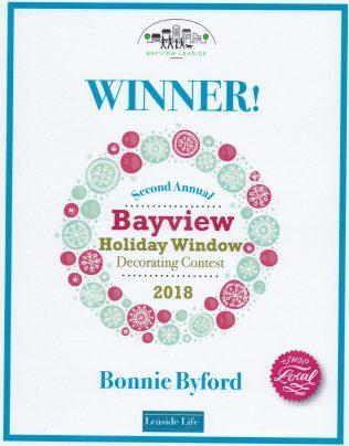 Winnter - Bayview Holiday Window Decorating Contest 2018