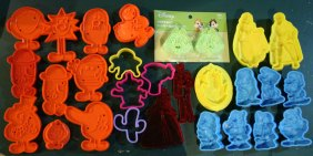 mr. men, snow white, cinderella,toy story