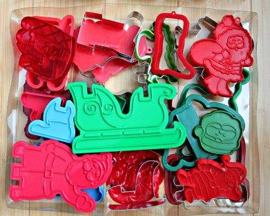 santas, 3D sleigh
