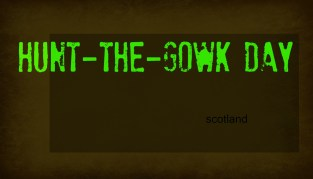 hunt the gowk