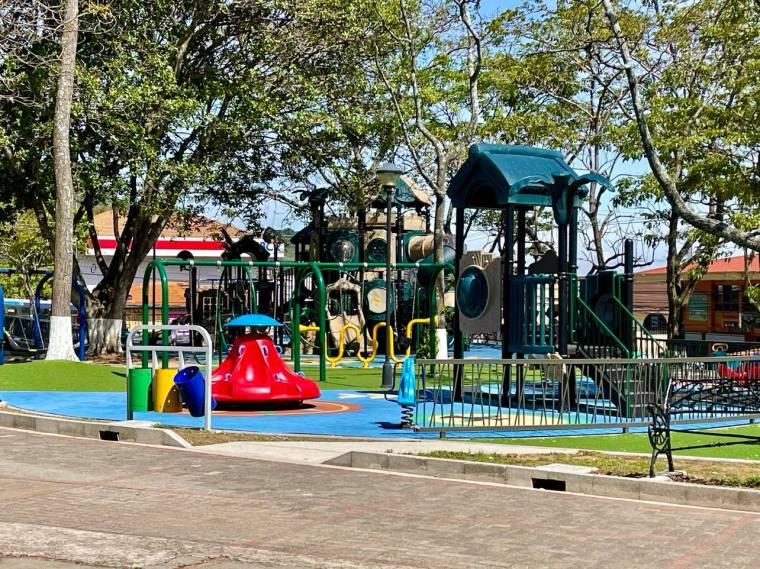 Children's Playground in Escazu, Costa Rica