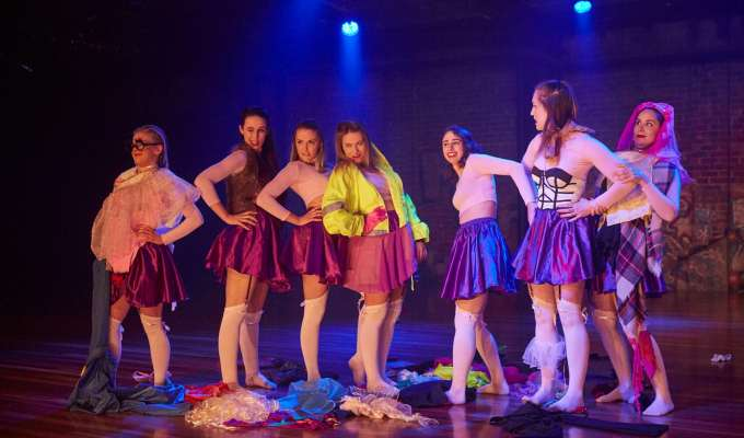 """""""Aclever consciousness-raising performance which entertains and challenges the audience from start to finish"""" – Dance Writer"""