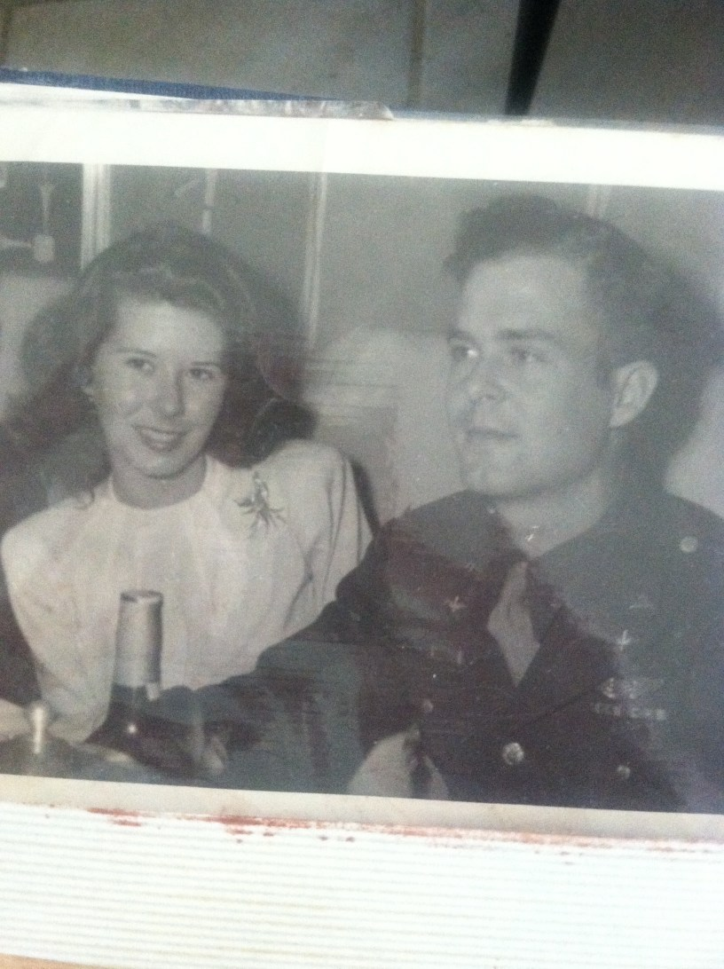 My mother and father 1940's , and I miss you.