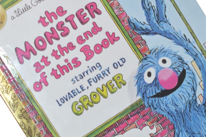 Mentor Text: The Monster at the end of this Book for Bigs and Littles