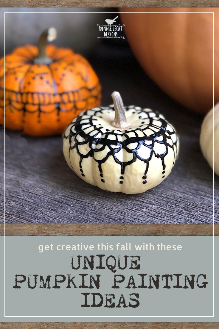 Get Creative This Fall With These Unique Pumpkin Painting