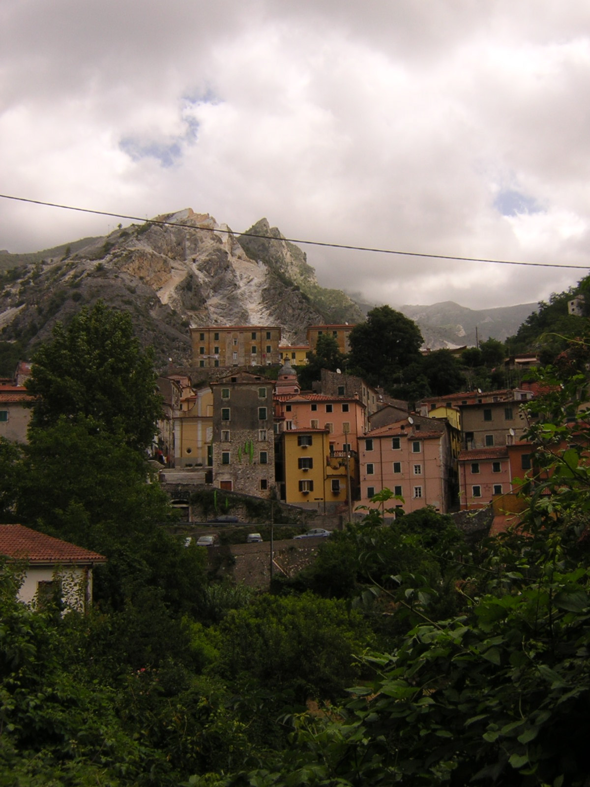 Torano, Italy below the Quarries of the Alpi Apuani