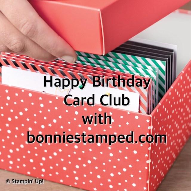 #happybirthdaycardclub #bonniestamped