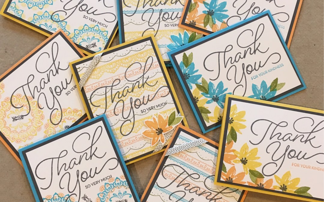 Sale-a-bration Thank You Cards