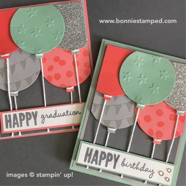 #celebratetoday #balloonframelits #retiringproducts #stampinup #bonniestamped