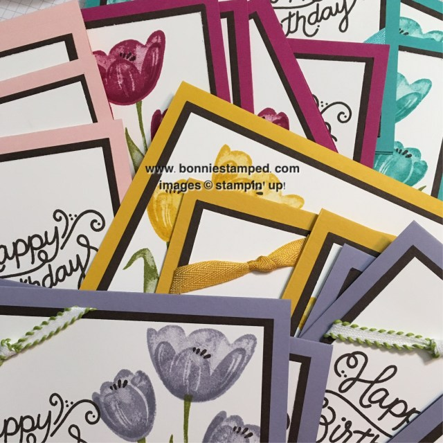 #tranquiltulips #bonniestamped #stampinup #newproduct
