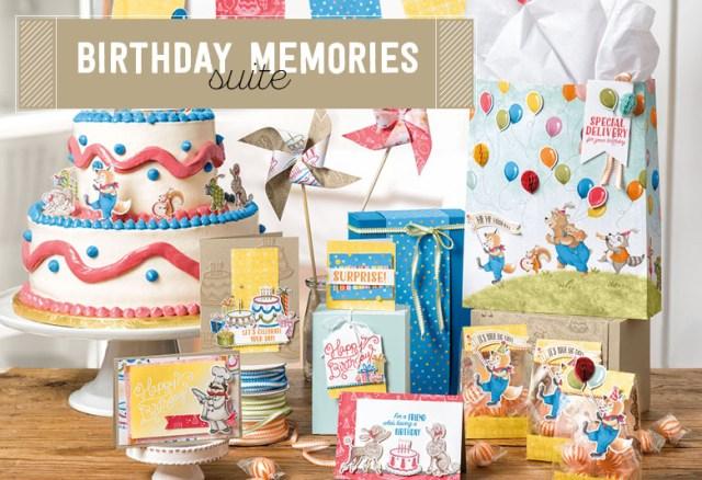 #birthdaymemories #productsuite #stampinup #bonniestamped