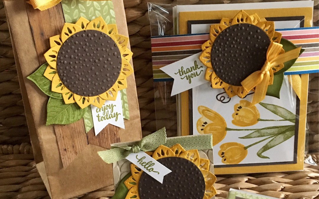Creating Sunflowers with the Eastern Beauty Bundle