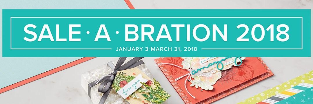 Sale-a-bration 2018 ends March 31st!
