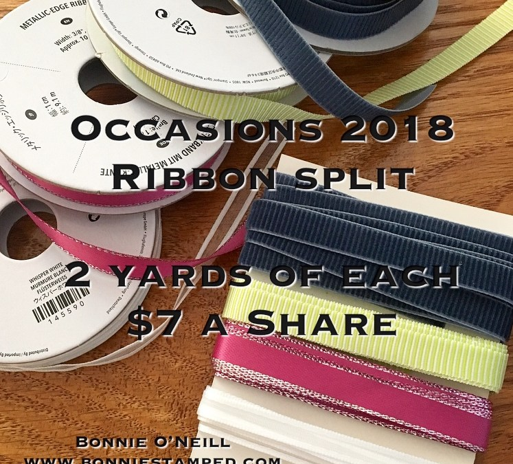 NEW Ribbon Split Added!