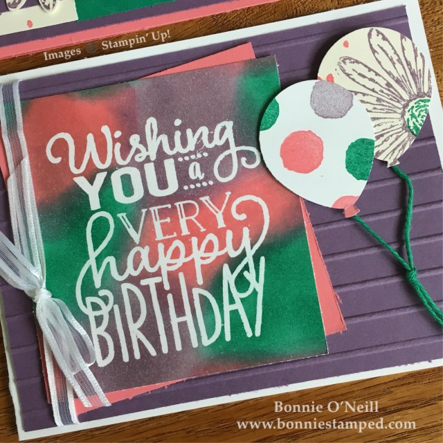 #bigonbirthdays #daisydelight #retiringproducts #bonniestamped #stampinup