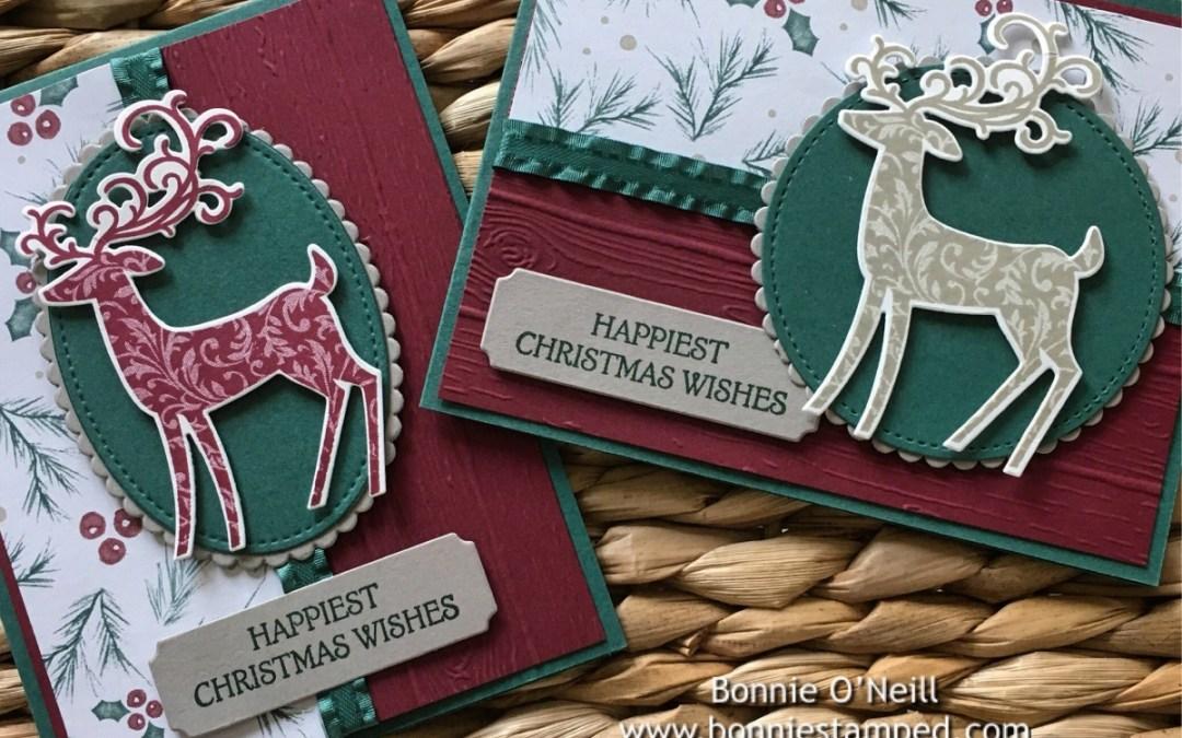 Holiday Card Club Featuring Dashing Deer Bundle
