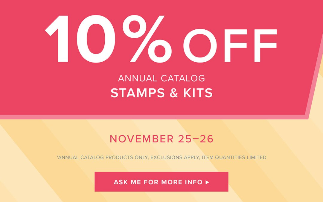 Online Extravaganza – Stamps and Kits on sale