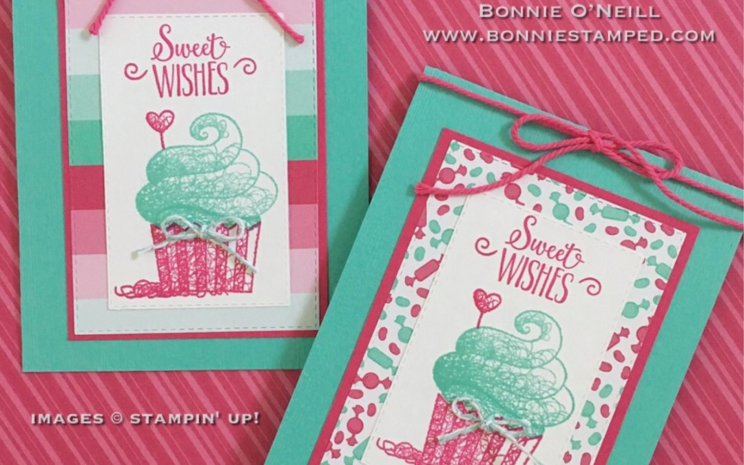 Hello Cupcake with How Sweet It Is Designer Series Paper