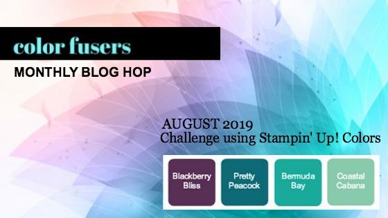 Color Fusers Blog Hop August 2019