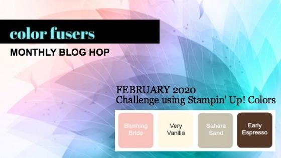 Color Fusers Blog Hop February 2020