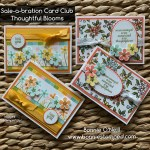 Sale-a-bration Card Club March 2020 Note Cards