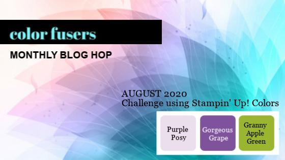 Color Fusers Blog Hop August 2020