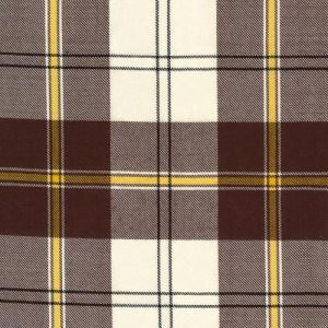 Cunningham Dress Brown Tartan