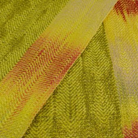 Bonny Claith Autumn Leaves scarf olive yellow-0131-min