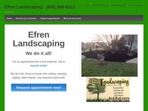 screenshot_of_Efren_Landscaping