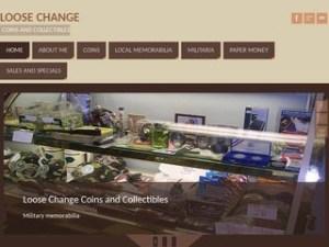 screenshot of loosechangecoins.com