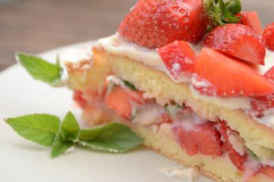 Erdbeer-Mojito-Torte-Rezept
