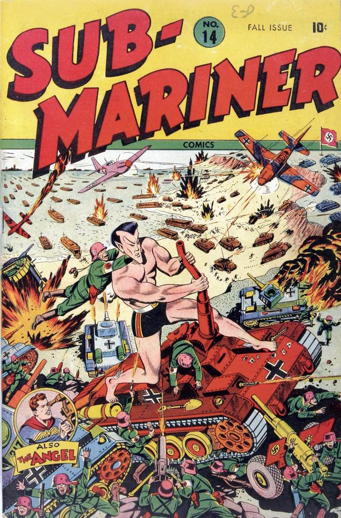 Débarquement du Comics US…