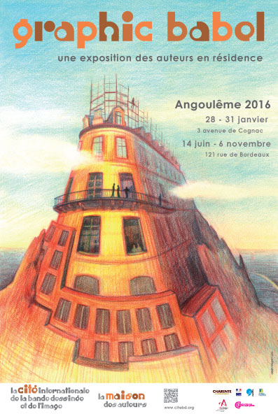 graphic babel, exposition ( FIBD2016)