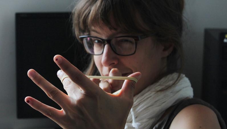 Sophie Guerrive - Photo d'Alain François