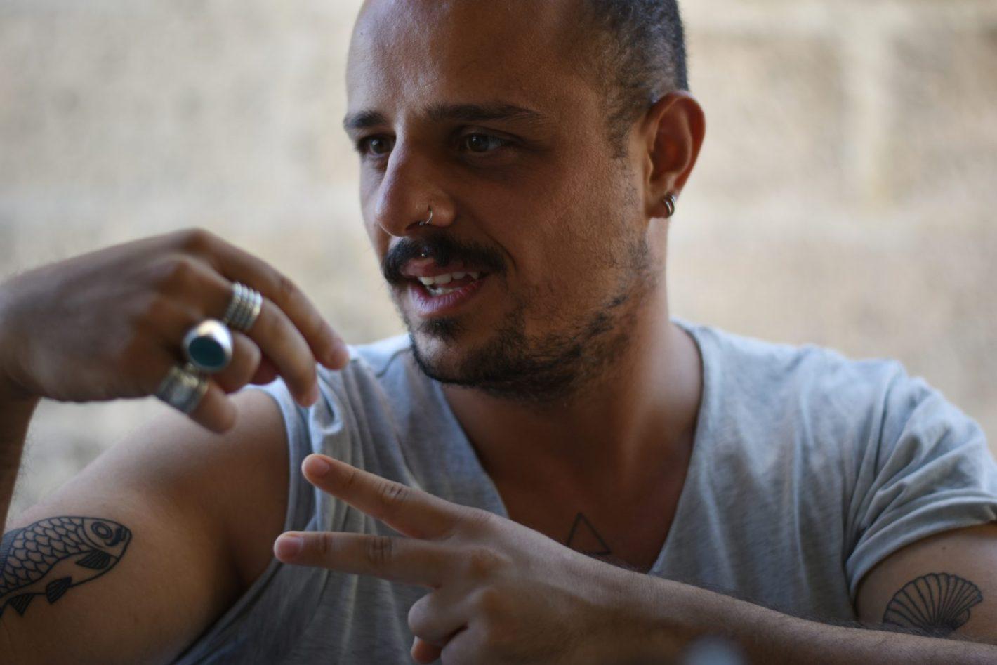 Portrait de Rojer Féghali - Photo Alain François