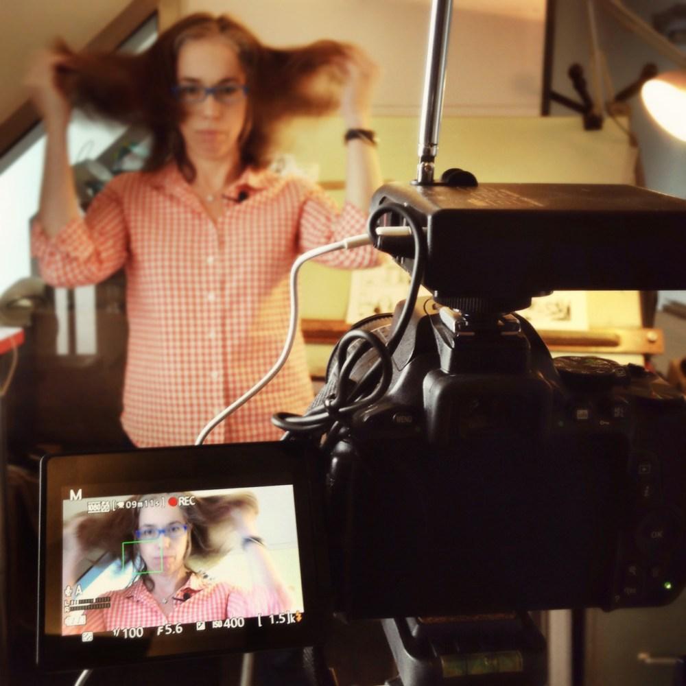 Jessica Abel sur le petit écran - Photo Alain François