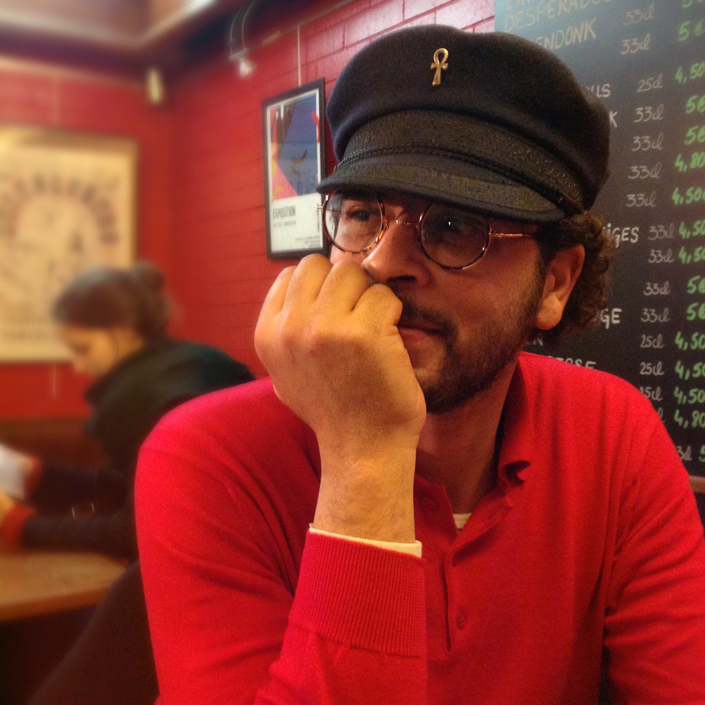 Ahmed Salem pendant le FIBD2016 - Photo Alain François