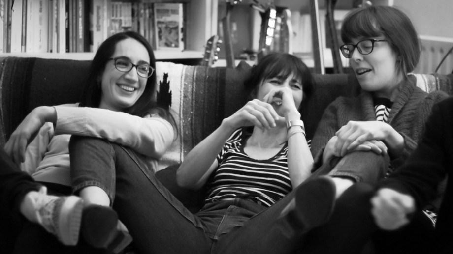 Mathilde Riberoux, Céline Guichard et Sophie Guerrive