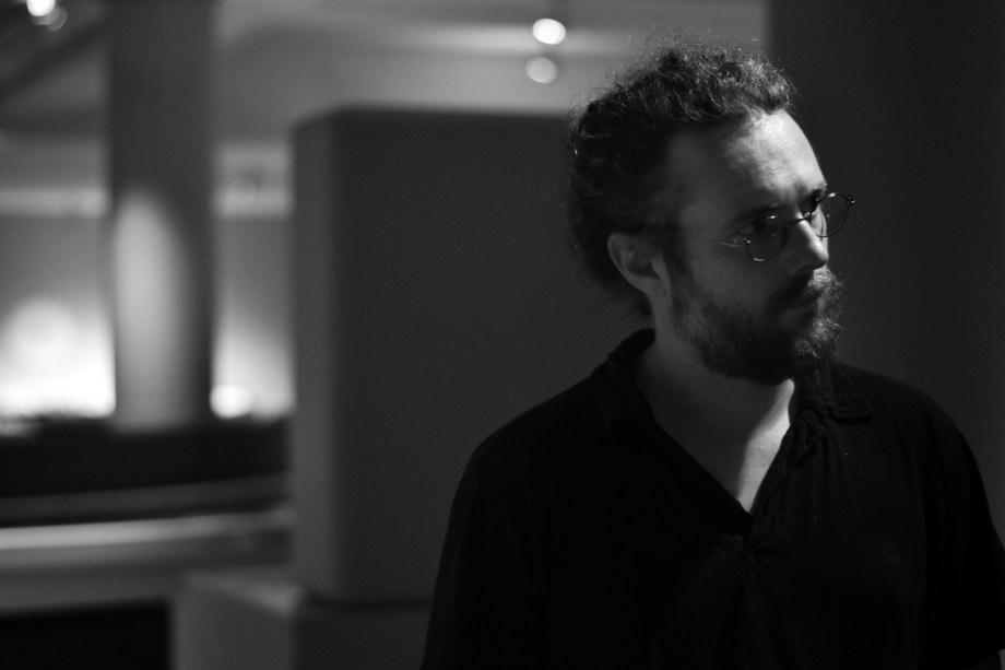 Thomas Dervieux au noir (et au musée)