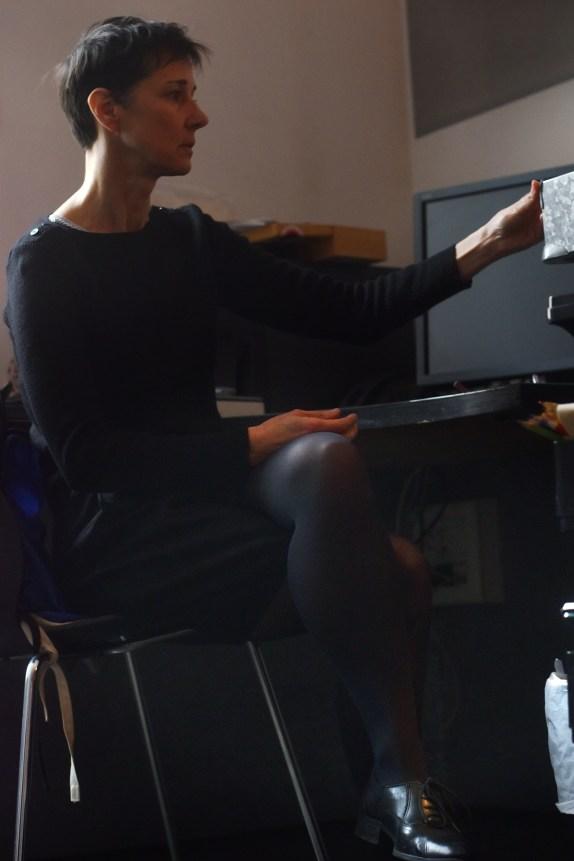 Céline Guichard à la Maison des auteurs Angoulême - Photo Alain François