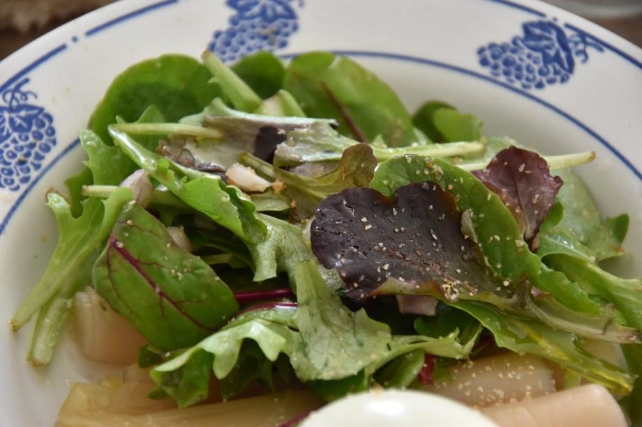 Nagori de Ryoko Sekiguchi et ma salade
