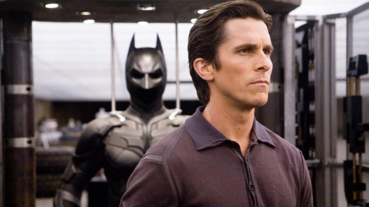 Christian Bale as Batman in the Dark Night