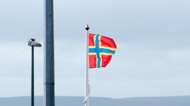 Flagge der Orkneys