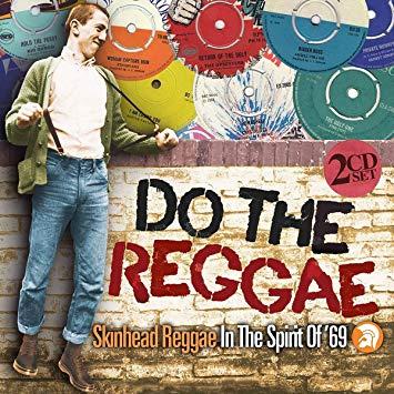une affiche musicale promouvant la musique skinhead