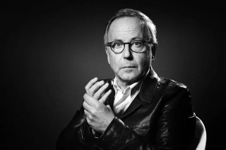 Image en noir et blanc de l'intellectuel Fabrice Luchini, parmis les intellectuels du 21ème