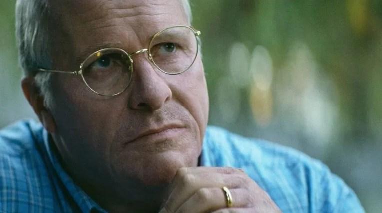 stratégie du choc avec Dick Cheney, dans le film VICE